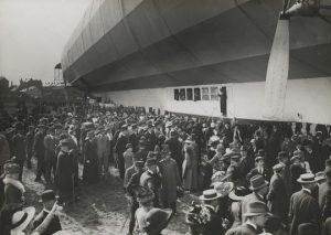 Tilskuere ved Hansa på Kløvermarken