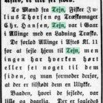 1914-02-12 Bornholms Tidende side 2, Formodet Ulykke