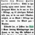 1914-02-13 Bornholms Tidende side 2, Formodet Ulykke (med Nikolai Weikop)