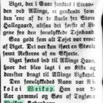 1914-03-07 Bornholms Tidende side 2, Nikolai Weikop fundet druknet