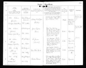 1914-03-13 Død Nikolai Weikop, Allinge-Sandvig sogn side 249
